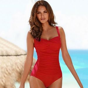 Other - NWT RED SWIM SUIT SIZE XL